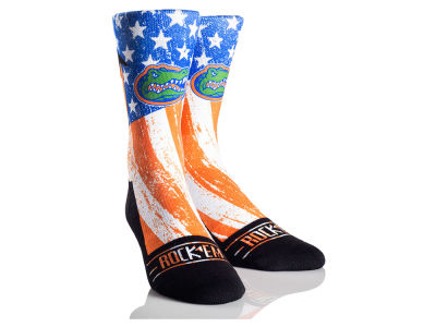 Florida Gators Rock 'Em Stars & Stripes Socks