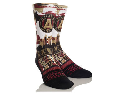 Atlanta United FC Rock 'Em City Skyline Socks