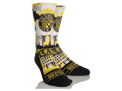 Columbus Crew SC Rock 'Em City Skyline Socks