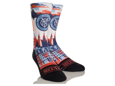 New York City FC Rock 'Em City Skyline Socks