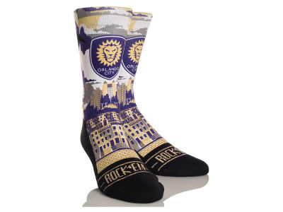Orlando City SC Rock 'Em City Skyline Socks