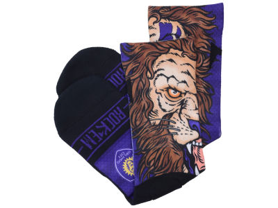 Orlando City SC Rock 'Em Mascot Socks