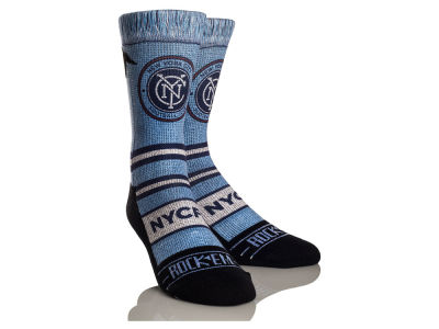 New York City FC Rock 'Em Scarf Socks