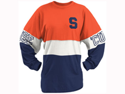 Syracuse Orange Pressbox NCAA Women's Clarity Sweeper T-Shirt