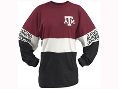 Texas A&M Aggies Pressbox NCAA Women's Clarity Sweeper T-Shirt