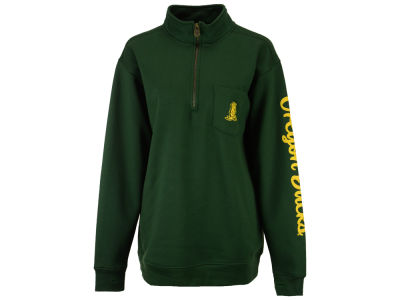 Oregon Ducks Pressbox NCAA Women's Samantha Quarter Zip Pullover