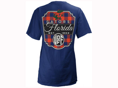 Florida Gators Pressbox NCAA Women's Buffalo Plaid Big T-Shirt
