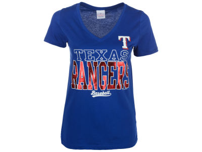 Texas Rangers 5th & Ocean MLB Women's Lineup T-Shirt