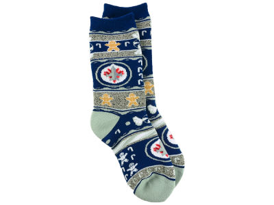 Winnipeg Jets Christmas Socks