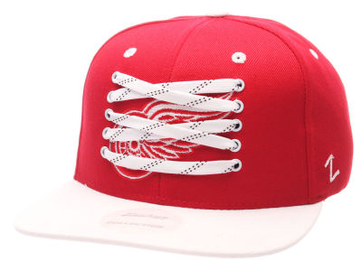 Detroit Red Wings Zephyr NHL Lacer Obscure Snapback Cap