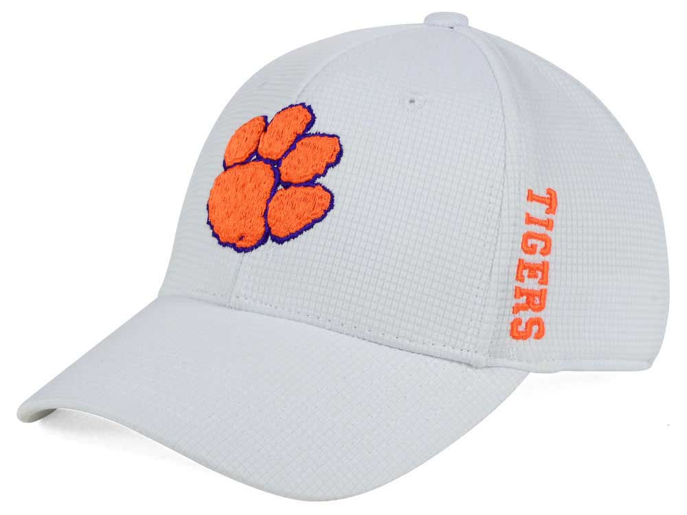 brand new 193c3 9b41c discount clemson tigers top of the world ncaa white booster cap 0b1f7 90f78
