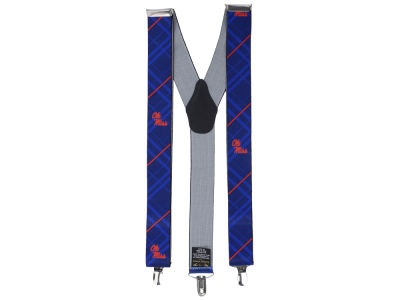 Ole Miss Rebels Oxford Suspenders