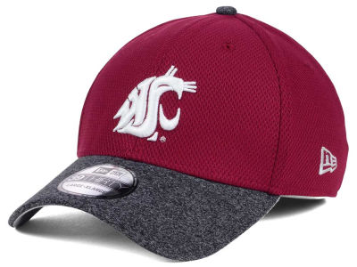 Washington State Cougars New Era Shadow Tech Diamond Era 39THIRTY Cap