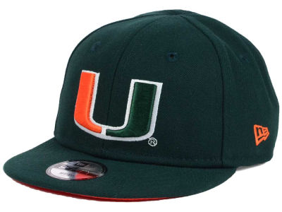 Miami Hurricanes New Era NCAA My 1st 9FIFTY Snapback Cap
