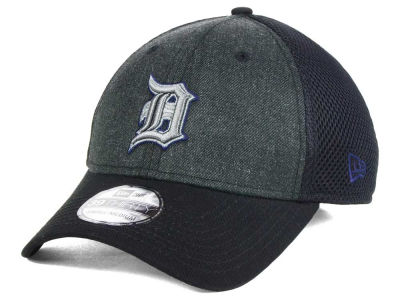 Detroit Tigers MLB Heathered Neo 39THIRTY Cap