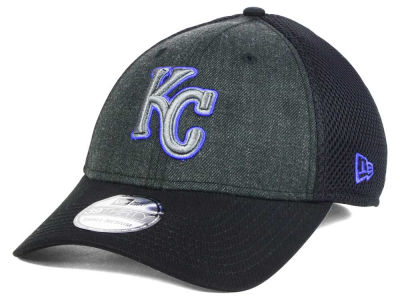 Kansas City Royals MLB Heathered Neo 39THIRTY Cap