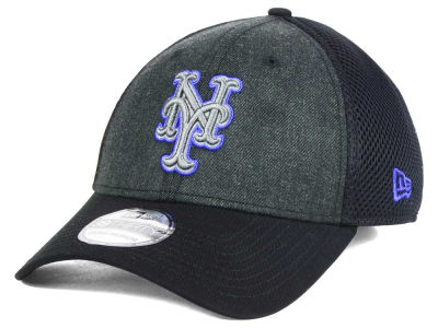 New York Mets MLB Heathered Neo 39THIRTY Cap