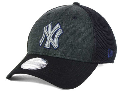 New York Yankees MLB Black Heathered Neo 39THIRTY Cap