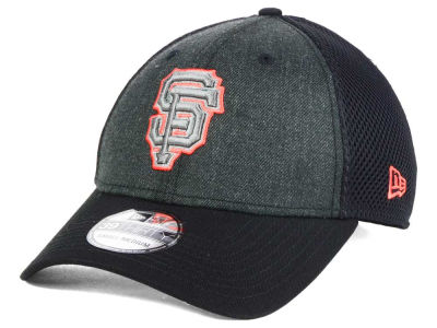 San Francisco Giants MLB Heathered Neo 39THIRTY Cap