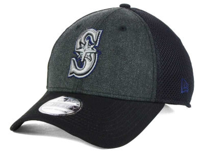 Seattle Mariners MLB Heathered Neo 39THIRTY Cap