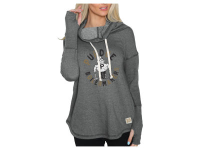 Purdue Boilermakers NCAA Women's Funnel Neck Sweatshirt