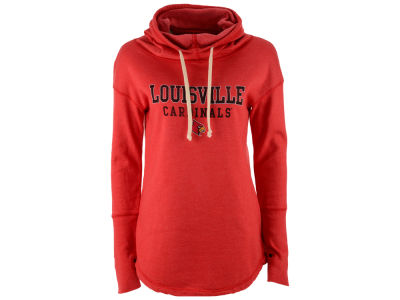 Louisville Cardinals NCAA Women's Funnel Neck Sweatshirt