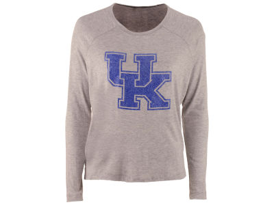 Kentucky Wildcats NCAA Women's Glitter Arch Long Sleeve T-Shirt