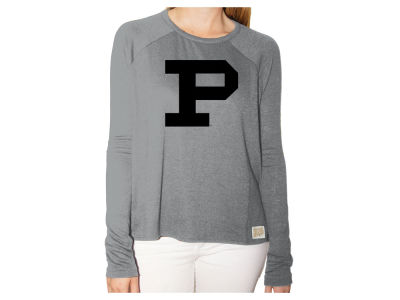 Purdue Boilermakers NCAA Women's Glitter Arch Long Sleeve T-Shirt