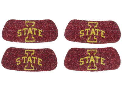 Iowa State Cyclones 2 Pair Glitter Eyeblack Sticker