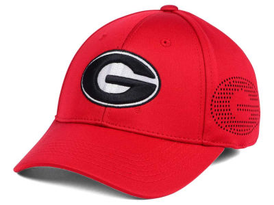 Georgia Bulldogs Top of the World NCAA Rails Flex Cap