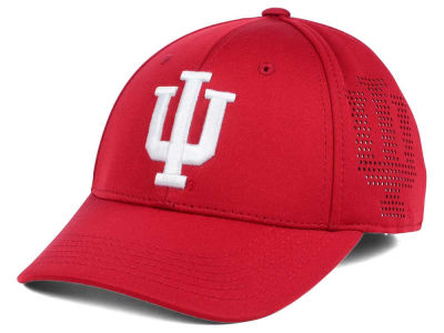 Indiana Hoosiers Top of the World NCAA Rails Flex Cap