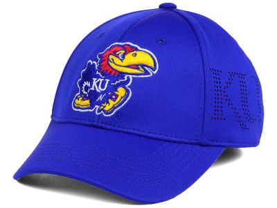 Kansas Jayhawks Top of the World NCAA Rails Flex Cap