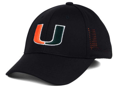 Miami Hurricanes Top of the World NCAA Rails Flex Cap