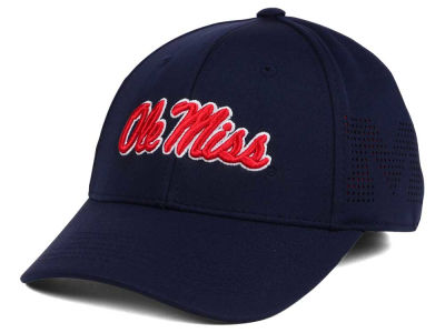 Ole Miss Rebels Top of the World NCAA Rails Flex Cap