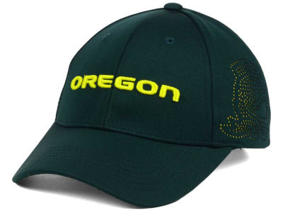 Oregon Ducks Top of the World NCAA Rails Flex Cap