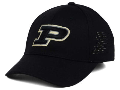 Purdue Boilermakers Top of the World NCAA Rails Flex Cap