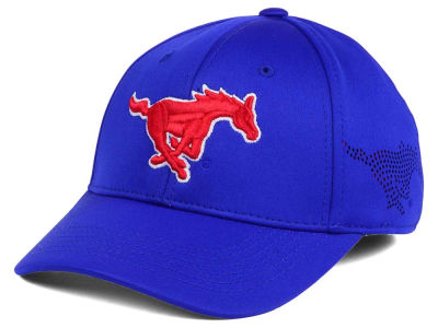 Southern Methodist Mustangs Top of the World NCAA Rails Flex Cap