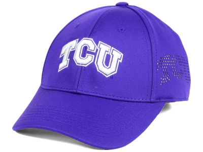 Texas Christian Horned Frogs Top of the World NCAA Rails Flex Cap