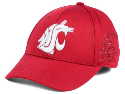 Washington State Cougars Top of the World NCAA Rails Flex Cap