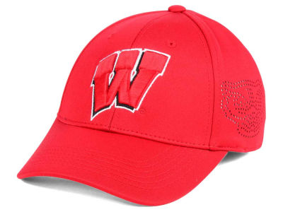 Wisconsin Badgers Top of the World NCAA Rails Flex Cap