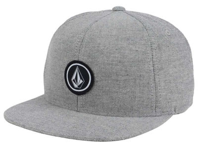 Volcom Quarter Heather Snapback Hat