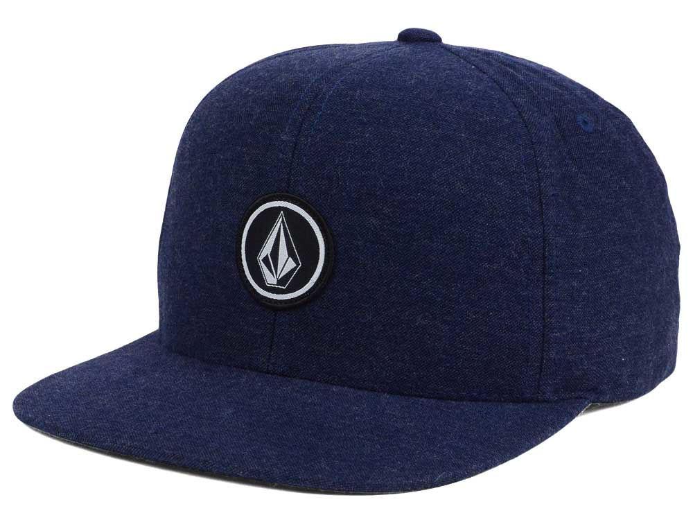 Volcom Quarter Heather Snapback Hat  595aa4b59ab