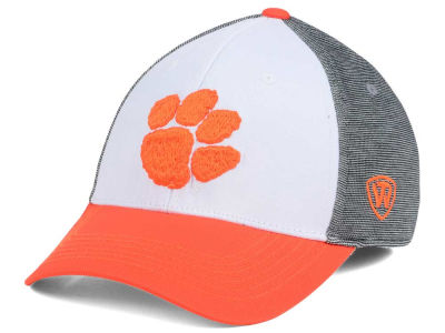 Clemson Tigers Top of the World NCAA Hustle Flex Cap