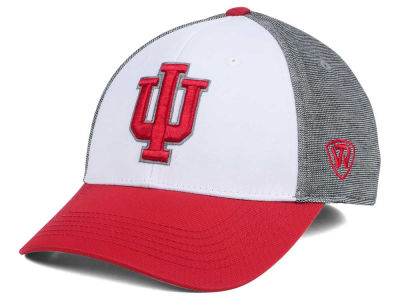 Indiana Hoosiers Top of the World NCAA Hustle Flex Cap