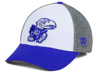 Kansas Jayhawks Top of the World NCAA Hustle Flex Cap