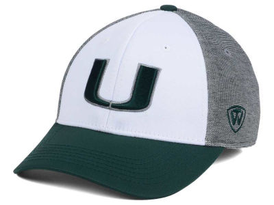 Miami Hurricanes Top of the World NCAA Hustle Flex Cap