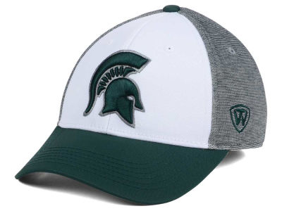 Michigan State Spartans Top of the World NCAA Hustle Flex Cap