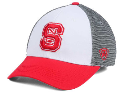 North Carolina State Wolfpack Top of the World NCAA Hustle Flex Cap