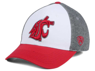 Washington State Cougars Top of the World NCAA Hustle Flex Cap