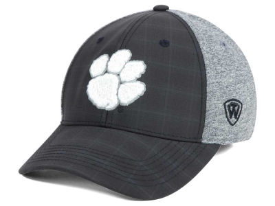 Clemson Tigers Top of the World NCAA Steam 2Tone Flex Cap